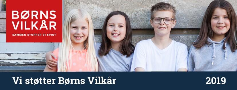 Rudi Sorgenfri Kropsterapi støtter Børns Vilkår