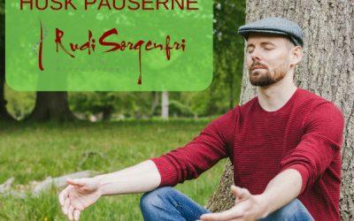 Pauser afhjælper stress