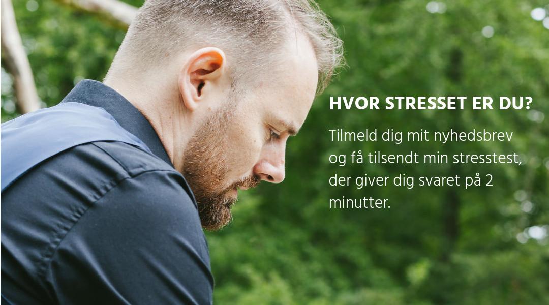 Hvor stresset er jeg Rudi Sorgenfri Kropsterapi Nyhedsbrev