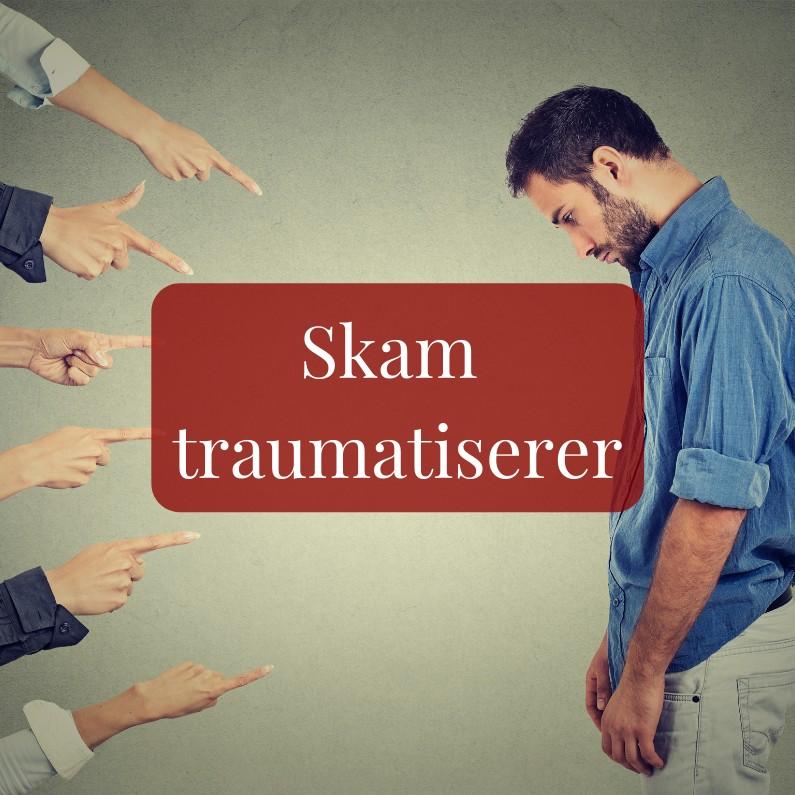 Skam traumatiserer Rudi Sorgenfri kropsterapi blog